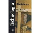 Szczegóły książki TECHNOLOGIA. CIESIELSTWO