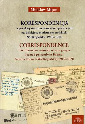 KORESPONDENCJA Z PRUSKIEJ SIECI POSTERUNKÓW ODPADOWYCH....