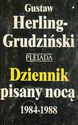 DZIENNIK PISANY NOCĄ 1984-1988 - 2 TOMY
