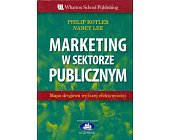 Szczegóły książki MARKETING W SEKTORZE PUBLICZNYM