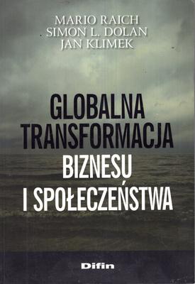 GLOBALNA TRANSFORMACJA BIZNESU I SPOŁECZEŃSTWA