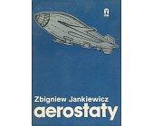 Szczegóły książki AEROSTATY - BALONY I STEROWCE