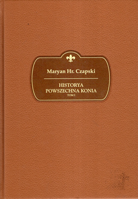 HISTORYA POWSZECHNA KONIA - 4 TOMY
