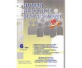 Szczegóły książki HUMAN RESOURCE MANAGEMENT 6/2014