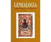 Szczegóły książki GENEALOGIA - TOM 11