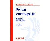 Szczegóły książki PRAWO EUROPEJSKIE