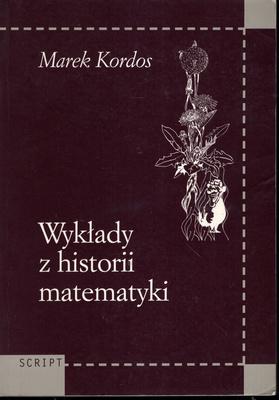 WYKŁADY Z HISTORII MATEMATYKI