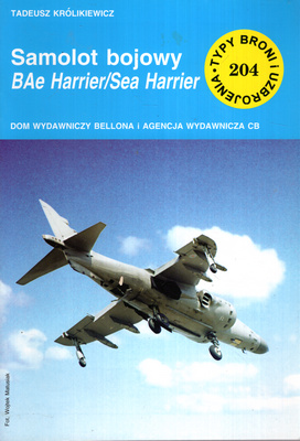 SAMOLOT BOJOWY BAE HARRIER/SEA HARRIER