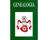 Szczegóły książki GENEALOGIA - TOM 7