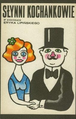 Znalezione obrazy dla zapytania Słynni kochankowie w rysunkach Eryka Lipińskiego