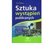 Szczegóły książki SZTUKA WYSTĄPIEŃ PUBLICZNYCH