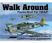 Szczegóły książki FOCKE-WULF FW 190A/F - WALK AROUND NO. 22