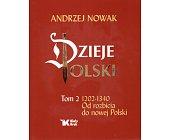 Szczegóły książki DZIEJE POLSKI - TOM 2