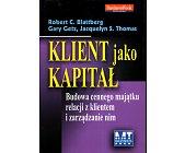 Szczegóły książki KLIENT JAKO KAPITAŁ