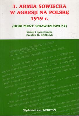 3. ARMIA SOWIECKA W AGRESJI NA POLSKĘ 1939 R. (DOKUMENT SPRAWOZDAWCZY)