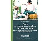 Szczegóły książki POMOC PSYCHOLOGICZNO-PEDAGOGICZNA W PRZEDSZKOLU I SZKOLE