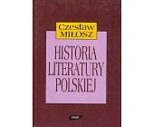 Szczegóły książki HISTORIA LITERATURY POLSKIEJ DO ROKU 1939