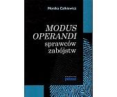 Szczegóły książki MODUS OPERANDI SPRAWCÓW ZABÓJSTW