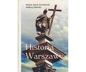 Szczegóły książki HISTORIA WARSZAWY