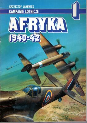 AFRYKA 1940-42 - KAMPANIE LOTNICZE NR 1