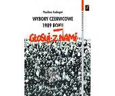 Szczegóły książki WYBORY CZERWCOWE 1989 ROKU