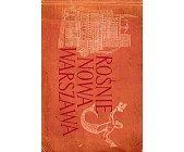 Szczegóły książki ROŚNIE NOWA WARSZAWA