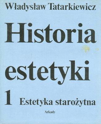 HISTORIA ESTETYKI - 3 TOMY