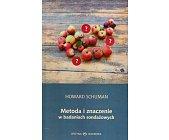 Szczegóły książki METODA I ZNACZENIE W BADANIACH SONDAŻOWYCH