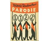 Szczegóły książki PARODIE