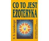 Szczegóły książki CO TO JEST EZOTERYKA
