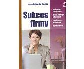 Szczegóły książki SUKCES FIRMY