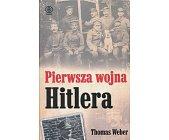 Szczegóły książki PIERWSZA WOJNA HITLERA