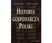 Szczegóły książki HISTORIA GOSPODARCZA POLSKI