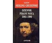 Szczegóły książki DZIENNIK PISANY NOCĄ 1993-1996