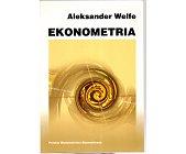 Szczegóły książki EKONOMETRIA