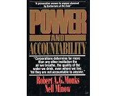 Szczegóły książki POWER AND ACCOUNTABILITY