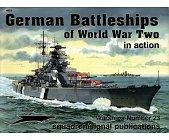 Szczegóły książki GERMAN BATTLESHIPS OF WORLD WAR II IN ACTION