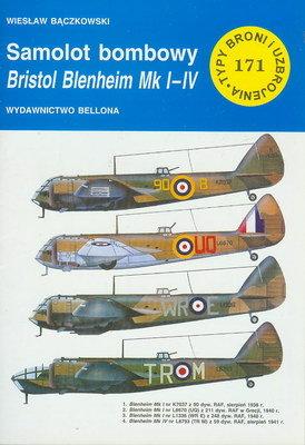 SAMOLOT BOMBOWY BRISTOL BLENHEIM MK I-IV (TYPY BRONI I UZBROJENIA - ZESZYT 171)
