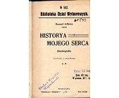 Szczegóły książki HISTORYA MOJEGO SERCA