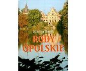 Szczegóły książki RODY OPOLSKIE