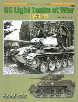 US LIGHT TANKS AT WAR 1941-45 (ARMOR AT WAR SERIES 7038)