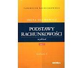 Szczegóły książki PODSTAWY RACHUNKOWOŚCI - 2 TOMY
