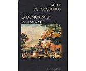 Szczegóły książki O DEMOKRACJI W AMERYCE
