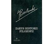 Szczegóły książki ZARYS HISTORII FILOZOFII
