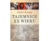 Szczegóły książki TAJEMNICE XX WIEKU