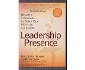 Szczegóły książki LEADERSHIP PRESENSE