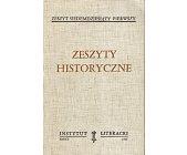 Szczegóły książki ZESZYTY HISTORYCZNE (71)
