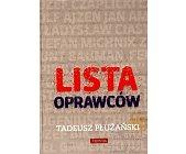 Szczegóły książki LISTA OPRAWCÓW