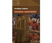 Szczegóły książki TWIERDZA SAMOTNOŚCI