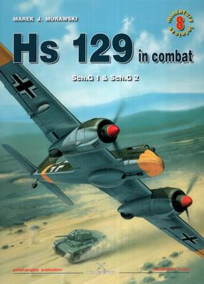 HS 129 IN COMBAT SCH.G 1 & SCH.G 2 - MINIATURY LOTNICZE NR 8